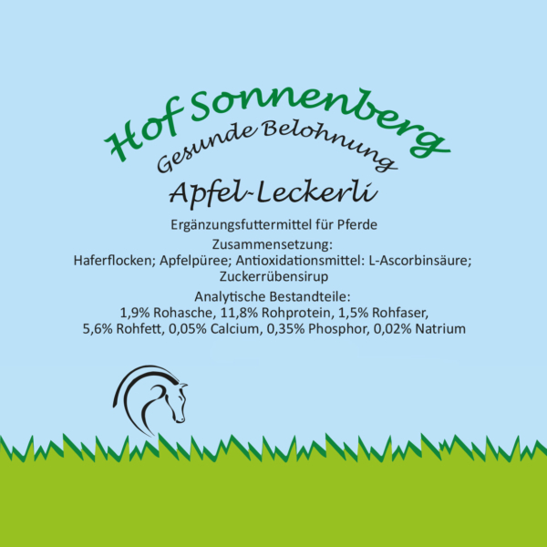 Apfel-Leckerli